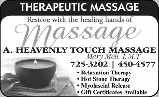 Restore with the Healing Hands of Massage