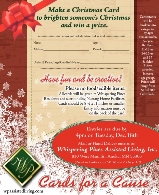 Make a Christmas Card to Brighten Somen's Christmas and Win a Prize
