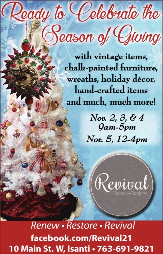 Ready to celebrate the season of giving revival ads for revival in minneapolis mn kristyandbryce Image collections
