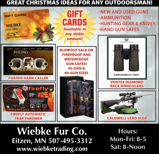 Great Christmas Ideas for Any Outdoorsman!