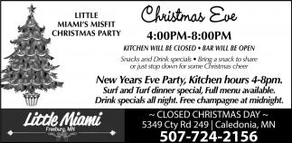 Little Miami's Misfit Christmas Party