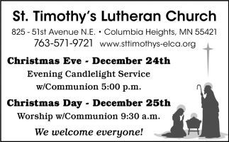 Evening Candlelight Service