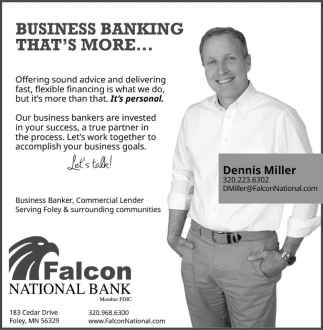 Business Banking that's More...