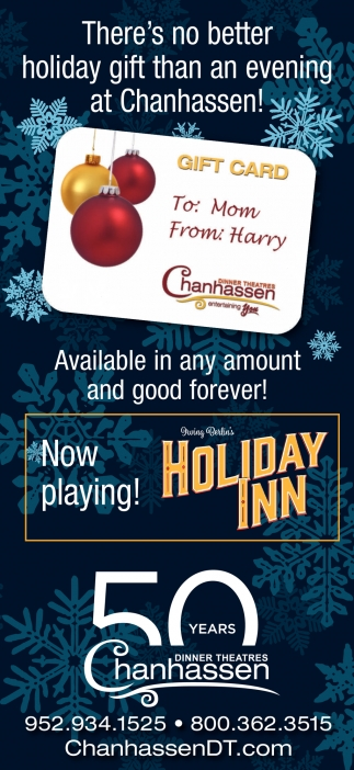 There's no Better Holiday Gift than an Evening at Chanhassen!