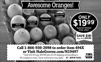 Awesome Oranges!