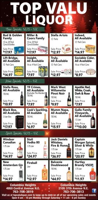 Top Valu Liquor