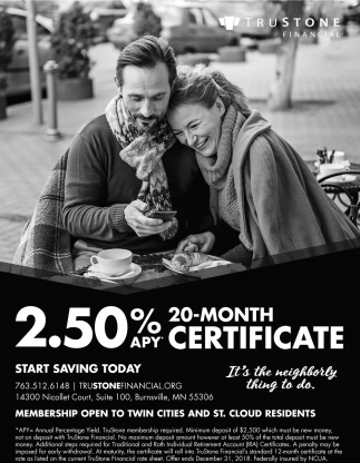 Start Saving Today!