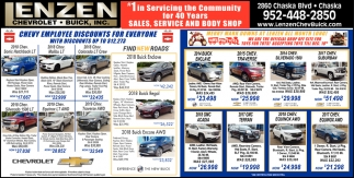 #1 in Servicing the Community for 40 Years