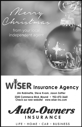 Merry Christmas from Your Local Independent Agent