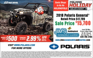 Polaris Holiday Sales Event
