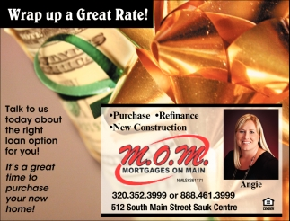 Wrap up a Great Rate!