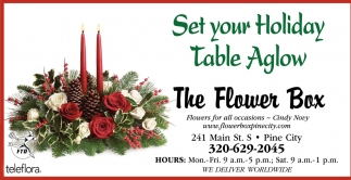 Set Your Holiday Table Aglow
