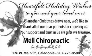 Heartfelt Holiday Wishes to You and Your Loved Ones