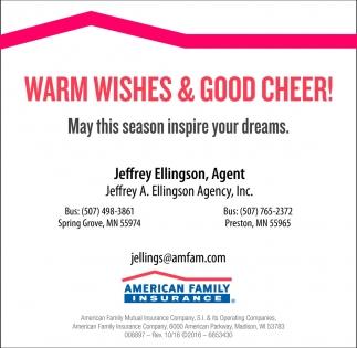 Warm Wishes & Good Cheer!
