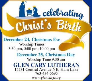 Celebrating Christ's Birth