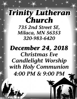 Christmas Eve Candlelight Worship