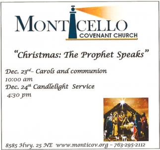 Christmas: The Prophet Speaks