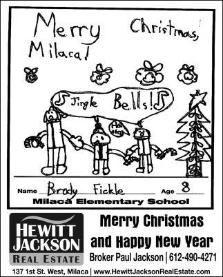 Merry Christmas, Milaca!