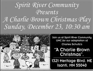 A Charlie Brown Christmas Play