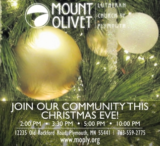 Join Our Community this Christmas Eve!