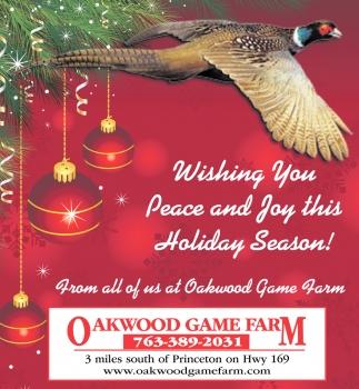 Wishing You Peace and Joy this Holiday Season!