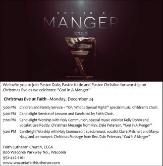Christmas Eve at Faith