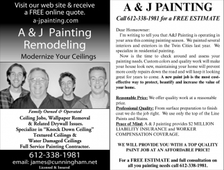 We Will Provide You with a Top Quality Paint Job at an Affordable Price!