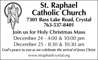 Join us for Holy Christmas Mass