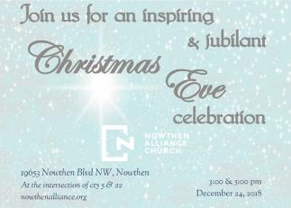 Join Us for an Inspiring & Jubilant Christmas Eve Celebration