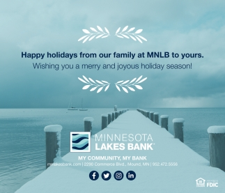 Happy Holidays from Our Family at MNLB to Yours