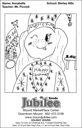 Jubilee Foods Christmas 2020 Happy Christmas, Jubilee Foods, Mound, MN