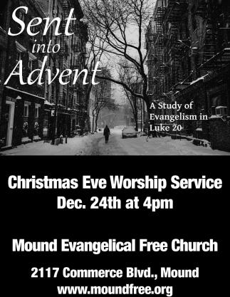 Sent into Advent