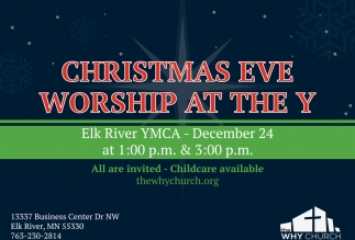 Christmas Eve Worship at the YMCA