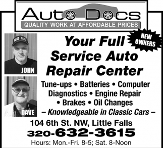 Your Full Service Auto Repair Center