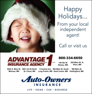 Happy Holidays... from Your Local Independent Agent!