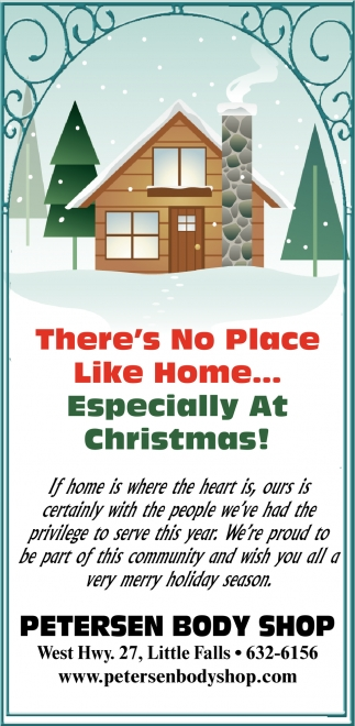 There's No Place Like Home... Especially at Christmas!