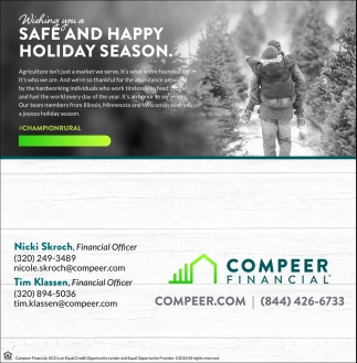 Wishing You a Safe and Happy Holiday Season