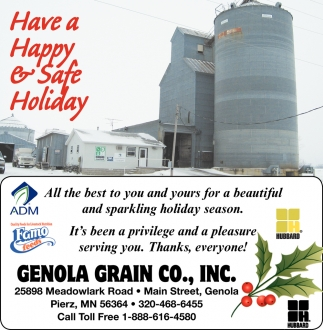 Have a Happy & Safe Holiday