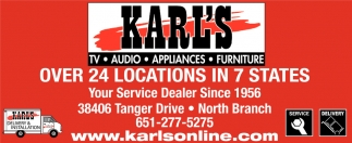 Your Service Dealer Since 1956