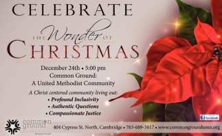Celebrate the Wonder of Christmas