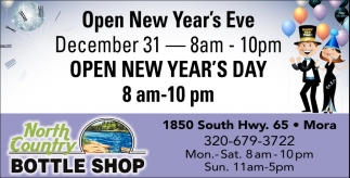 Open New Year's Eve
