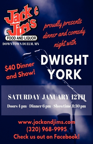 $40 Dinner and Show!