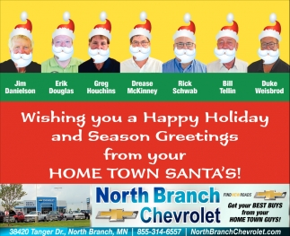 Wishing You a Happy Holiday and Season Greetings