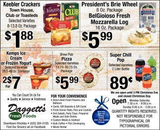 Daggett's Fresh Foods