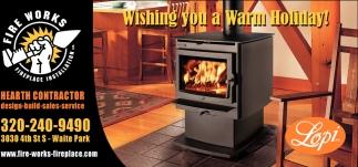 Wishing You a Warm Holiday!