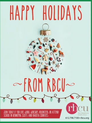 Happy Holidays from RBCU