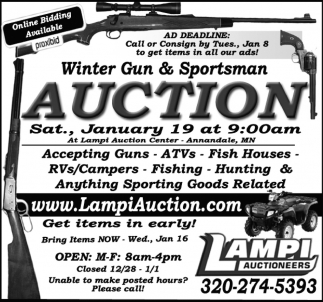Winter Gun & Sportsman Auction