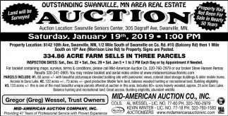 Outstanding Swanville, MN Area Real Estate Auction