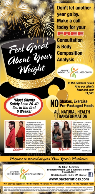 Feel Great About Your Weight