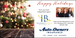 Happy Holidays from Your Local Independent Agent